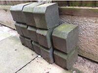 14 edging blocks