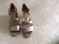 Ladies M&S wider fit Foxglove Sandals size 5.5