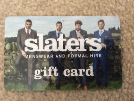 Slaters Menswear - £80 credit