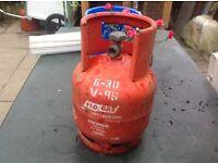 Gas bottle propane empty bottle