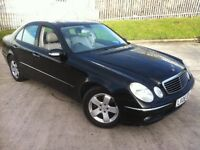 2006 MERCEDES E320 CDI AVANTGARDE DIESEL AUTOMATIC FSH MOT MARCH .