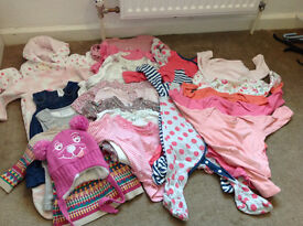 3 - 6 months old baby girl clothes > BUNDLE