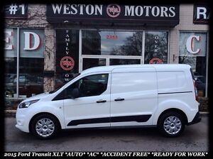 2015 Ford Transit Connect XLT *AUTO *AC *ACCIDENT FREE *READY FO