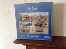 St Ives jigsaw puzzle still sealed,1000 pieces by Terry Harrison