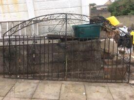 Iron gates £50 ono