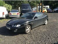 2001 51 Hyundai Coupe 2 door Black