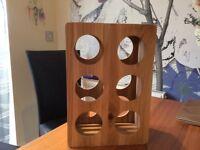 Wooden wine rack from John lewis