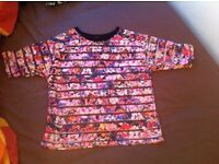 Floral Top New Look Size 8 Never Been Worn