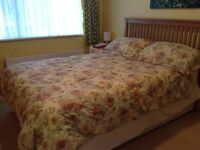 Dorma double duvet cover with four pillow cases