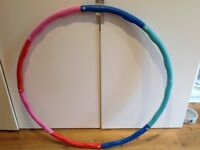 Hula Hoop-adjustabe sizing 95cms diameter as new collect from W12 9PX