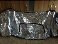 Thermal Silver Screen Cover for Motorhome