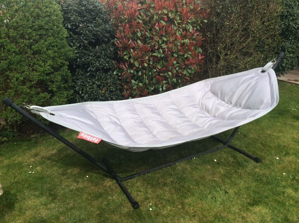 Fatboy Hammock, Light Grey - Fatboy Hammock, Light Grey In Yateley, Hampshire Gumtree