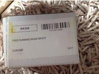 Free running basin waste