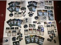 X wing miniatures game, 5 complete expansions