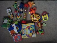 Vtech and little tykes baby toys