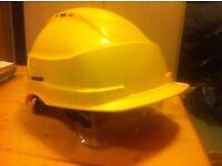 hi vis flame retardant and iris2 helmet