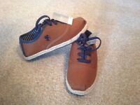 NEW Boys Shoes Size 10 (28) From NEXT