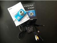 Nikon Coolpix s3100 and/or Kodak AF 3X series Compact Cameras