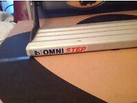 Caravan/motor home omni step