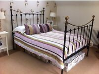 Double Cast Iron Bed