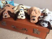 Bundle of 6 Hornby Pound Puppies original/vintage 80's collectable