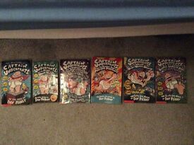 "full collection of ""captain underpants"" books"