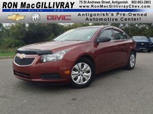 2012 Chevrolet Cruze LS..Satellite Radio..$100 B/W Tax Inc..Low
