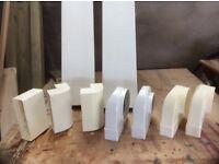 Selection of rectangular / flat ducting