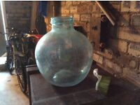 Small glass carboy