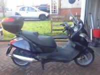 Aprilia Atlantic Sprint 500cc Full Years MOT Only 12500 miles £1000