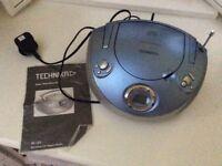 Technika Portable Stereo Radio