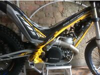 Sherco st 290 trials bike