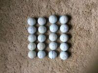 Titleist Pro V1x reclaimed golf balls