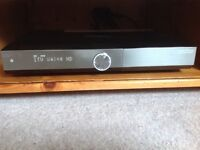 Humax DTR-T1010 1TB Freeview recorder hardly used