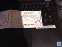 1 seated ticket for Nick Mason Pink Floyd Roundhouse London 24 September 2018
