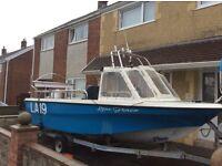 Shetland 536 fishing boat