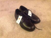 New Marks & Spencer black shoes. Size 6.5. £15