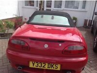 Red MGF convertable
