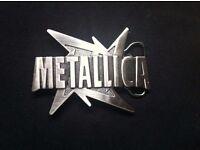 Metallica Throwing Star belt buckle