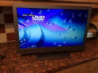 Bush TV with built in DVD playe- 24 inch