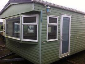 Cosalt Devon FREE UK DELIVERY 37x12 2 bedrooms DBL GLAZED CENTRAL HEATED over 150 static caravans