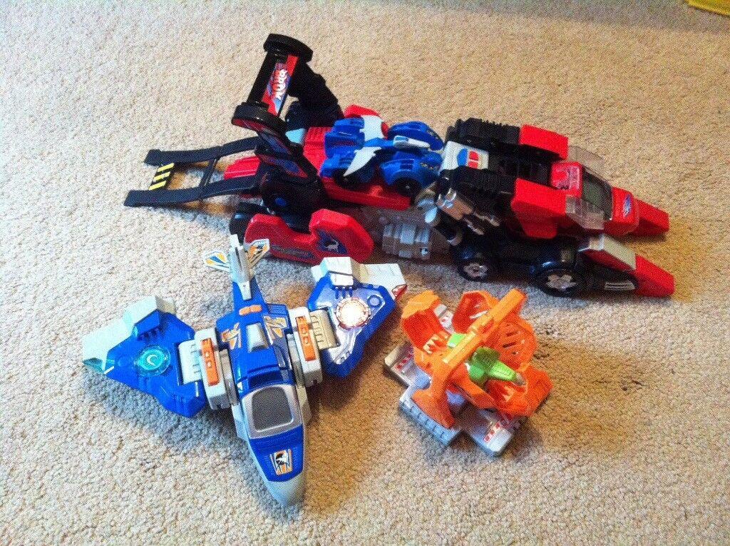 Vetch Switch & Go dinosaurs transformers