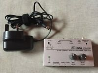 Behringer Micro Monitor Headphone Amplifier MA400