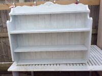 Lovely real wood shelves
