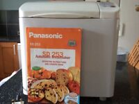 Panasonic SD 253 automatic breadmaker