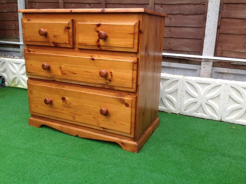 Pine chest of 4 drawers***reserved jane*****
