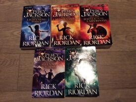 Percy Jackson Series, Rick Riordan, VGC