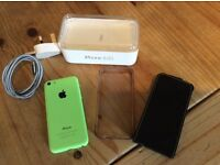 For sale. iPhone 5c in green 8gb. Great condition.