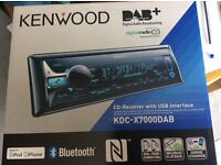 KENWOOD KDC-X7000DAB Car Stereo CD-Receiver with Bluetooth and DAB radio