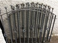 Fantastic set of four wrought iron railings